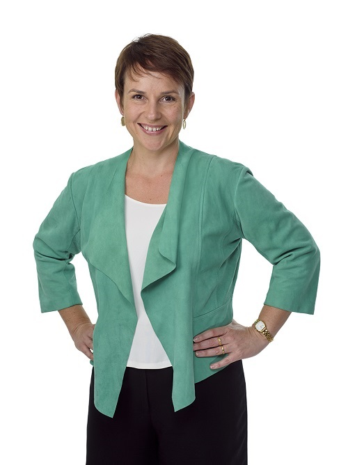 Portrait shot of Minister for Agriculture, the Hon. Jaala Pulford