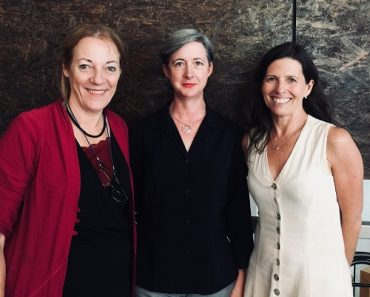 Three founding members of the Australian Women in Emergencies Network