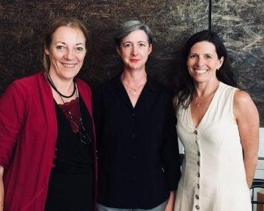 Three founding members of the Australian Women in Emergencies Network