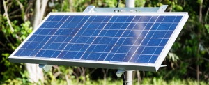 Solar panel on-farm