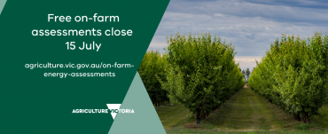 Free on-farm assessments close 15 July 2021