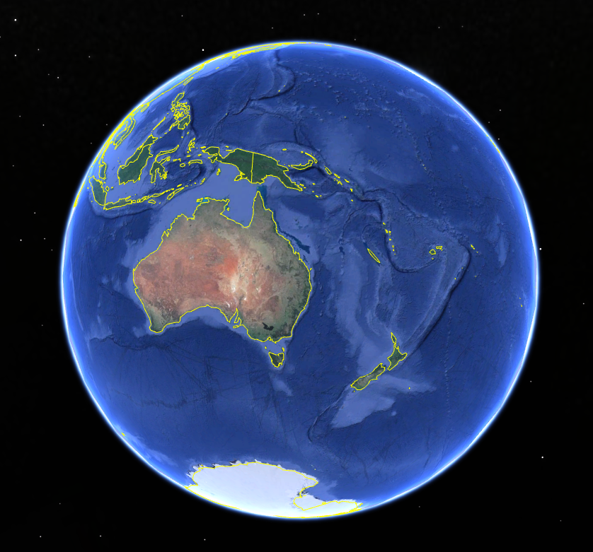 Map Of Australia From Space.Get Your Farm Soil Maps In Google Earth Irrigating Agriculture