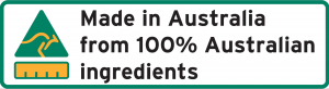Made in Australia label