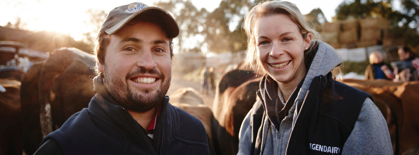 young dairy farmers