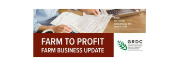 GRDC Farm to Profit Updates