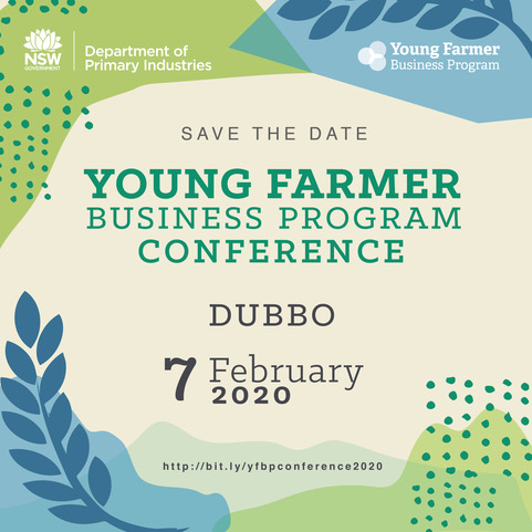Young Farmer Business Program Conference flyer