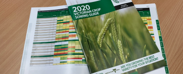 Victorian crop sowing guide front cover