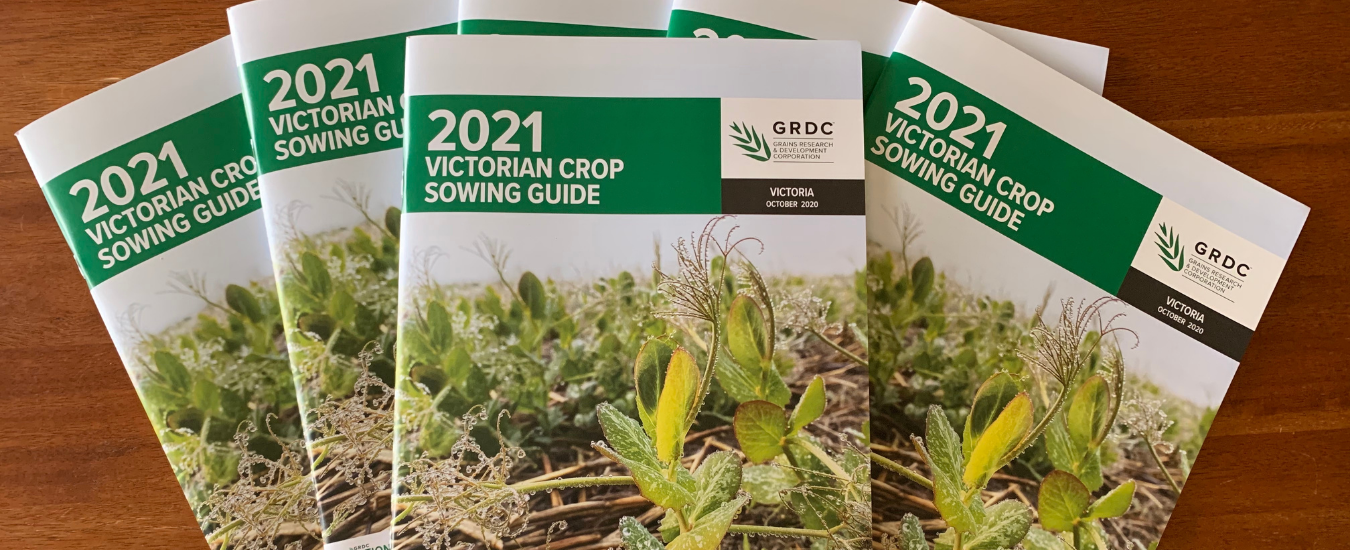 5 copies of the Victorian Crop Sowing Guide