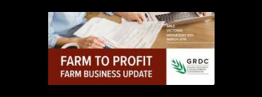 GRDC Farm to Profit Updates